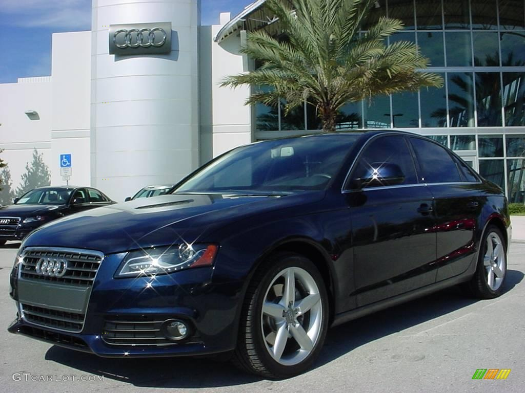 2009 Deep Sea Blue Pearl Effect Audi A4 2 0t Quattro Sedan 25047317 Gtcarlot Com Car Color