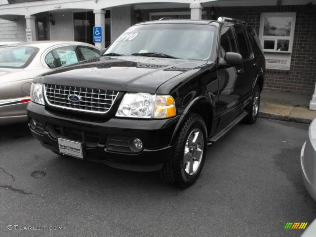 2003 black ford explorer limited 4x4 25047338 gtcarlot com car
