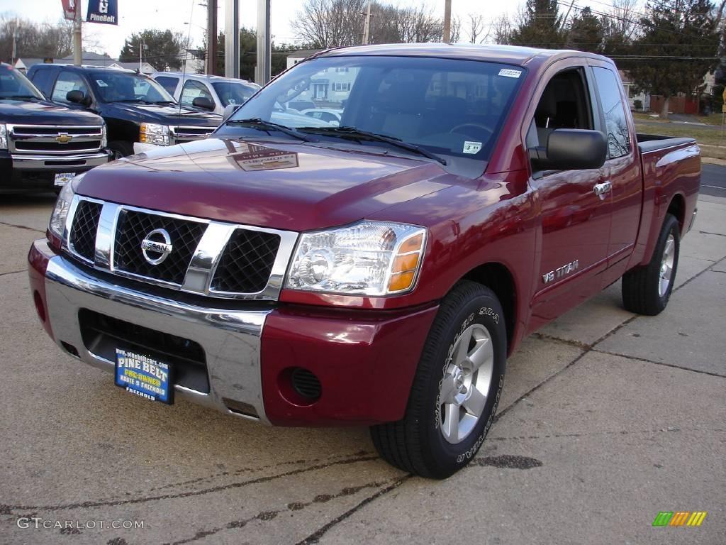 2007 red brawn nissan titan se king cab #25047411   gtcarlot
