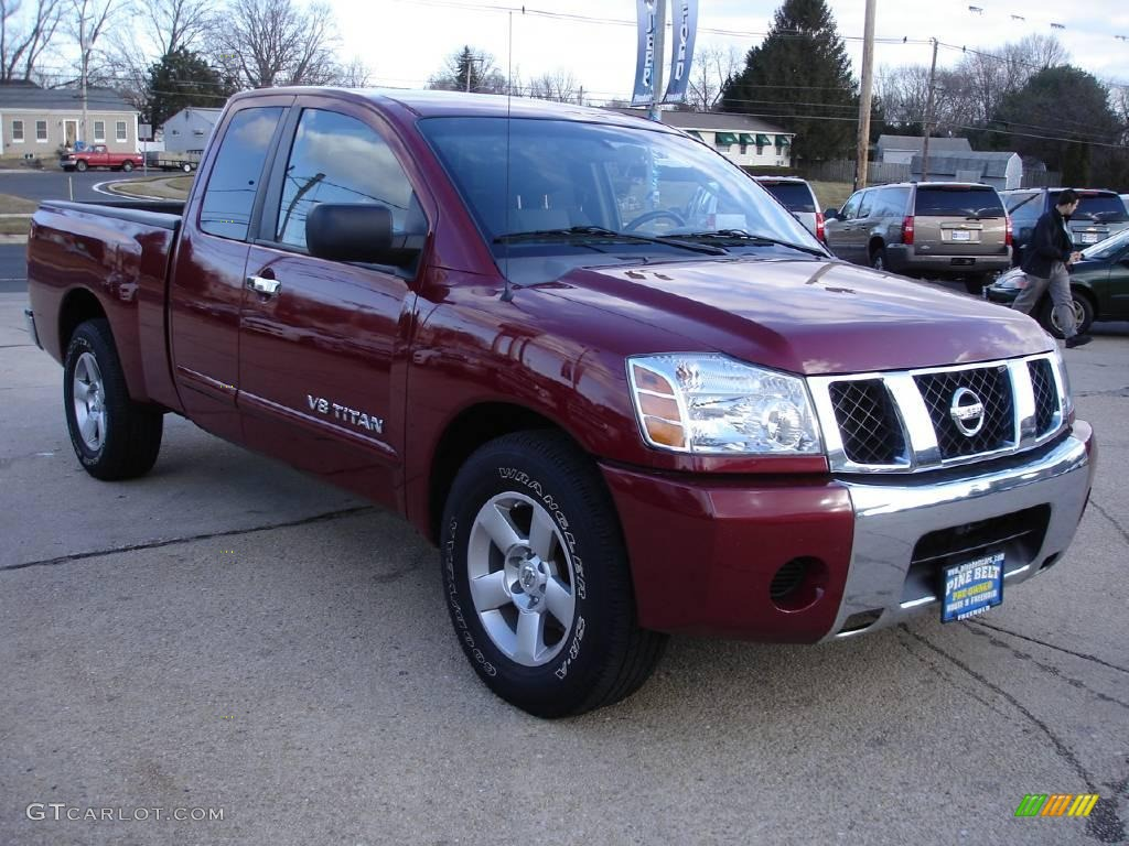 2007 red brawn nissan titan se king cab 25047411 photo 3 car color galleries. Black Bedroom Furniture Sets. Home Design Ideas