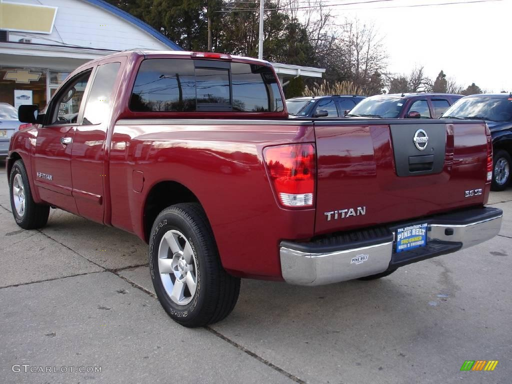 2007 red brawn nissan titan se king cab 25047411 photo 6 car color galleries. Black Bedroom Furniture Sets. Home Design Ideas