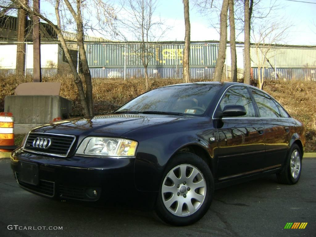 2002 ming blue pearl audi a6 3 0 quattro sedan 25062920 car color galleries. Black Bedroom Furniture Sets. Home Design Ideas