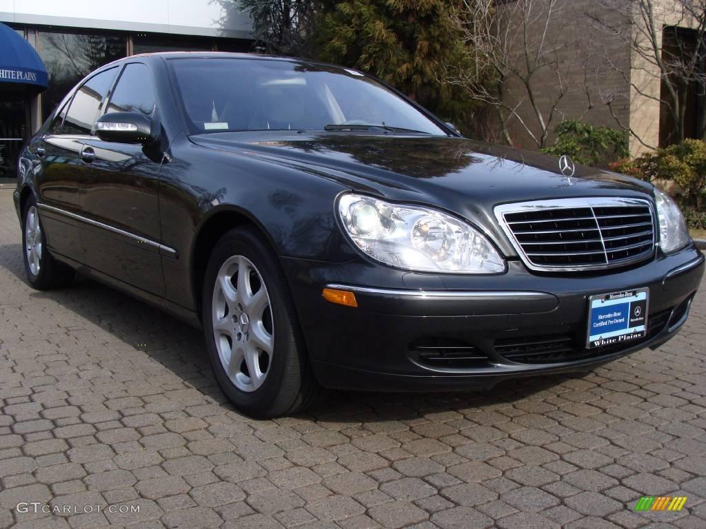 2004 tectite grey metallic mercedes benz s 430 4matic for Mercedes benz s 430