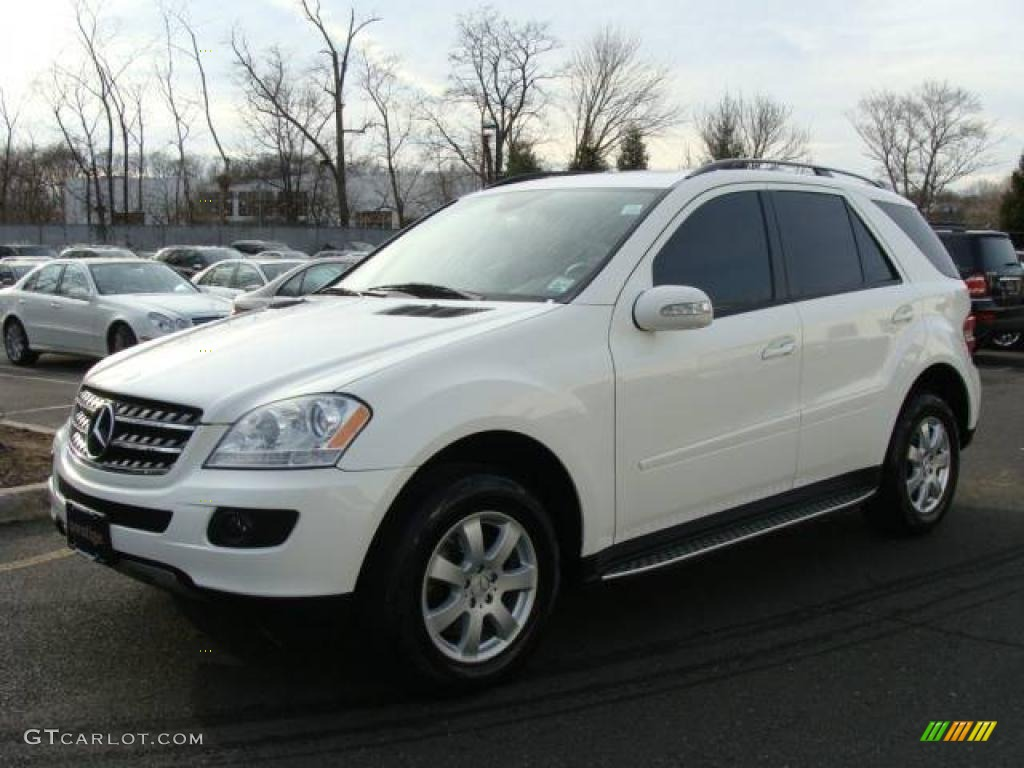 2007 alabaster white mercedes benz ml 320 cdi 4matic