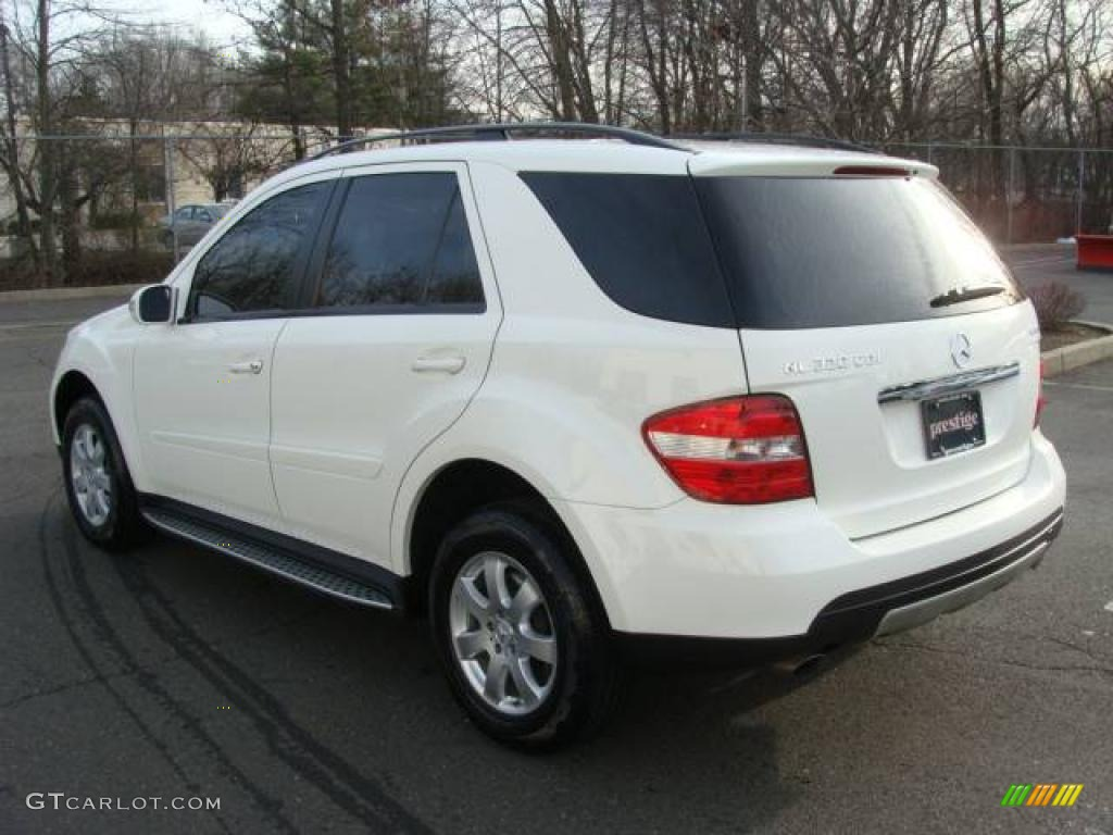 2007 alabaster white mercedes benz ml 320 cdi 4matic 25062270 photo 6 car. Black Bedroom Furniture Sets. Home Design Ideas