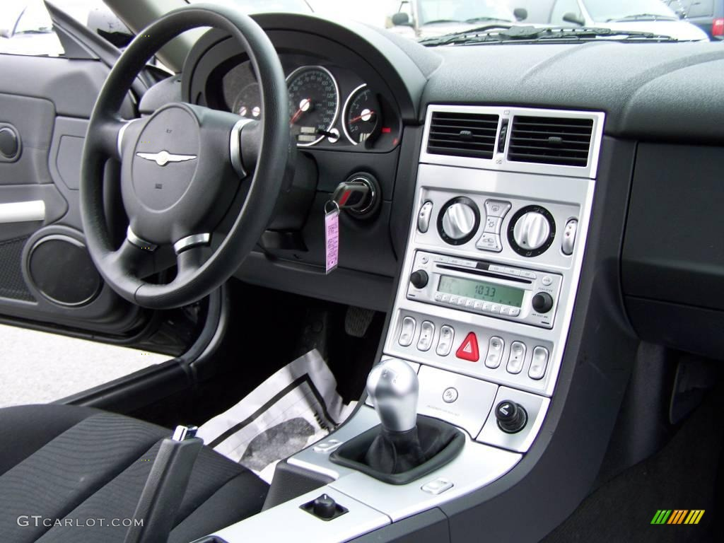 2007 Chrysler Crossfire Coupe Interior Photo 25101501