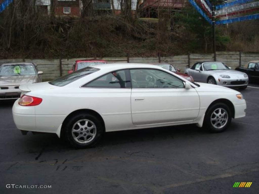 2002 Diamond White Pearl Toyota Solara Se Coupe 25062442
