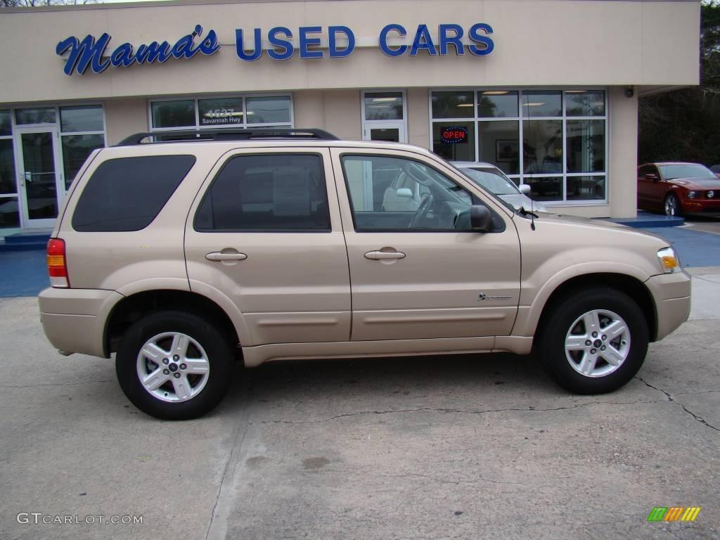 Dune Pearl Metallic Ford Escape Hybrid 4wd