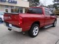 2008 Blaze Red Crystal Pearl Dodge Ram 1500 Big Horn Edition Quad Cab  photo #8
