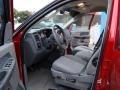 2008 Blaze Red Crystal Pearl Dodge Ram 1500 Big Horn Edition Quad Cab  photo #13