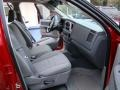 2008 Blaze Red Crystal Pearl Dodge Ram 1500 Big Horn Edition Quad Cab  photo #17