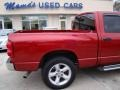2008 Blaze Red Crystal Pearl Dodge Ram 1500 Big Horn Edition Quad Cab  photo #36