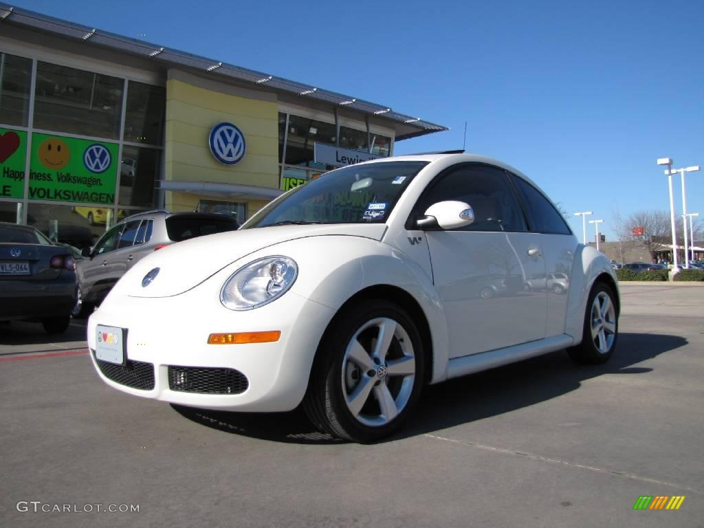 2008 campanella white volkswagen new beetle triple white coupe 25062961 car. Black Bedroom Furniture Sets. Home Design Ideas