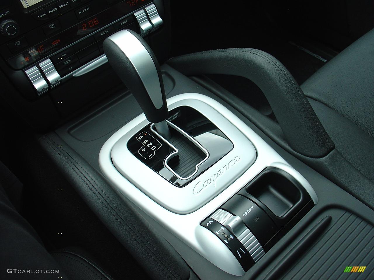 2008 Porsche Cayenne S Cayenne Tiptronic Gear Selector Photo 25137 Gtcarlot Com