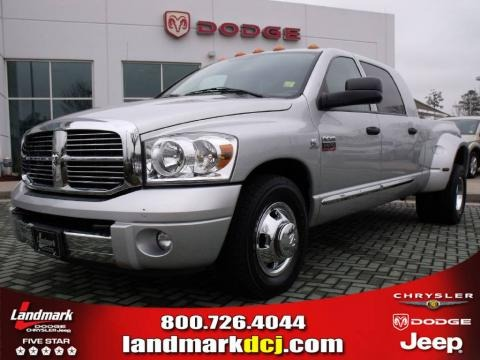 2007 Dodge Ram 3500 Laramie Mega Cab Dually Data, Info and Specs