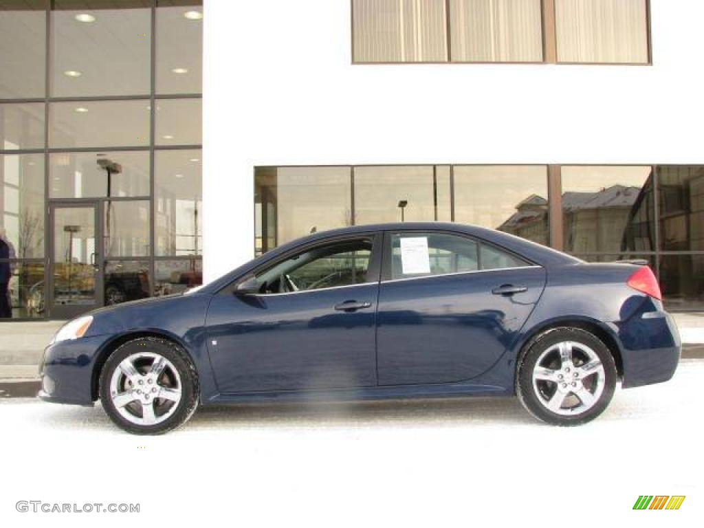 2008 Midnight Blue Metallic Pontiac G6 Gxp Sedan 25146264