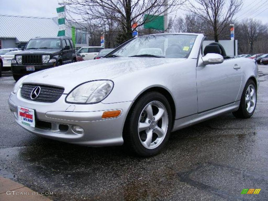 2001 brilliant silver metallic mercedes benz slk 320 for 2001 mercedes benz slk320