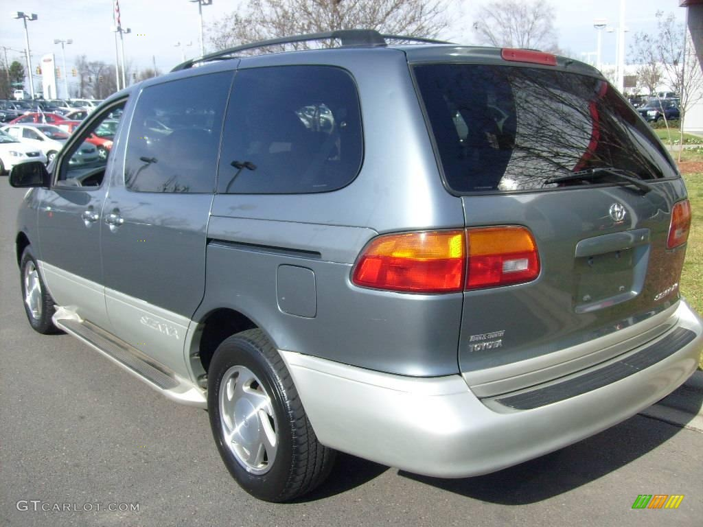 1999 sienna xle silver spruce metallic gray photo 5