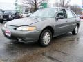 Medium Pewter Gray 1998 Mercury Tracer LS Sedan