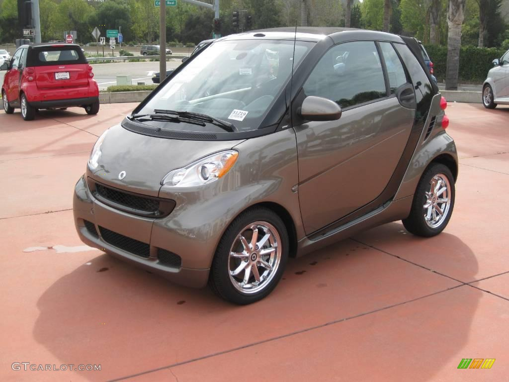 2009 gray metallic smart fortwo passion cabriolet 25145975 car color galleries. Black Bedroom Furniture Sets. Home Design Ideas