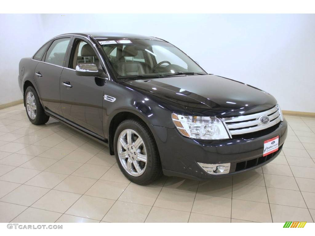 2008 dark ink blue metallic ford taurus limited awd 25063247 photo 11 car. Black Bedroom Furniture Sets. Home Design Ideas