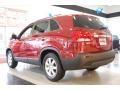 2011 Spicy Red Kia Sorento LX AWD  photo #4