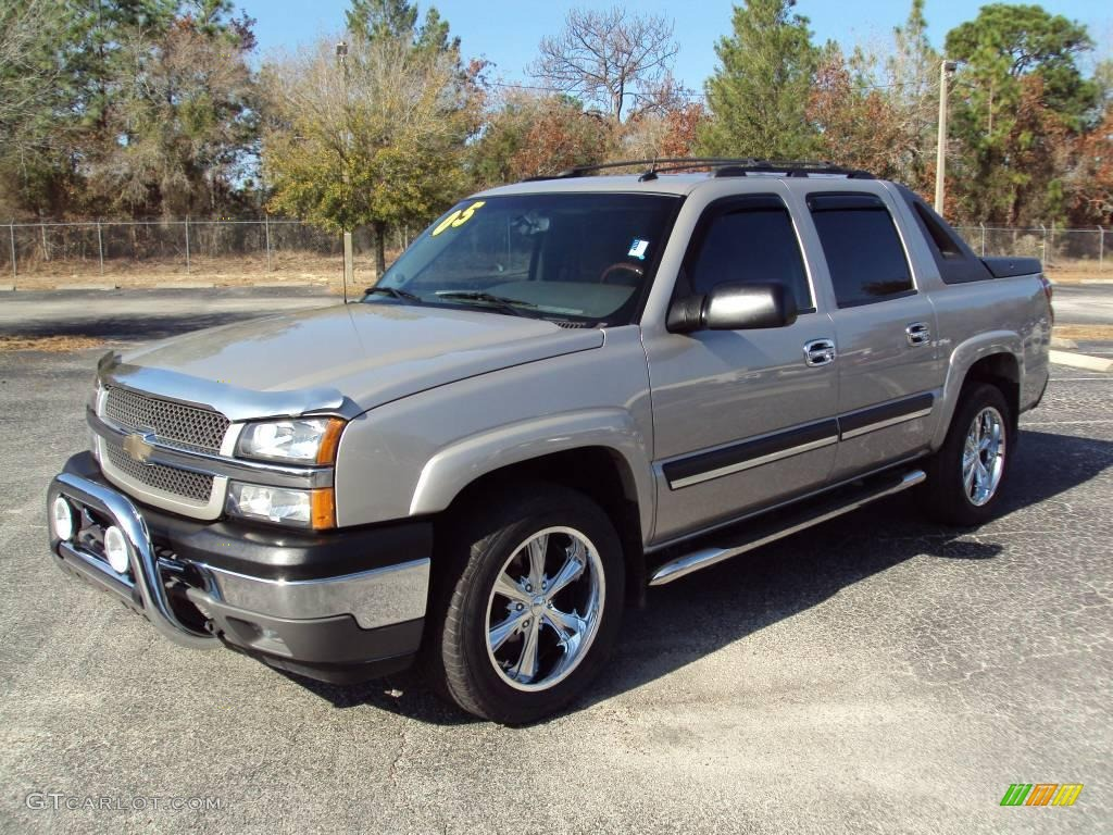 Silver birch metallic chevrolet avalanche