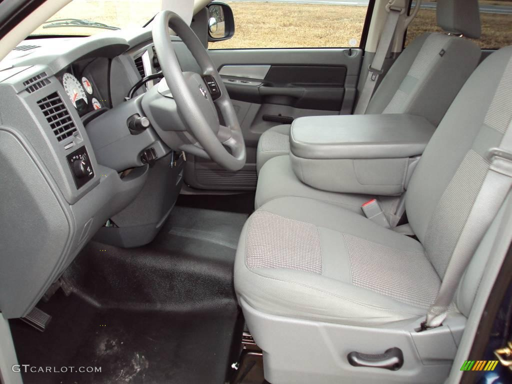 2007 Patriot Blue Pearl Dodge Ram 1500 Thunder Road Quad Cab 4x4 25063320 Photo 4 Gtcarlot