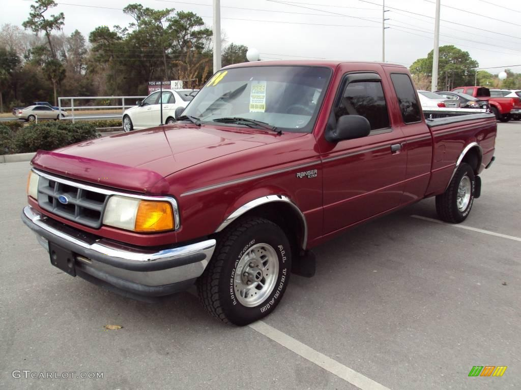 Medium aubergine metallic ford ranger