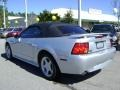 2001 Silver Metallic Ford Mustang GT Convertible  photo #5
