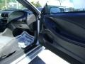 2001 Silver Metallic Ford Mustang GT Convertible  photo #17