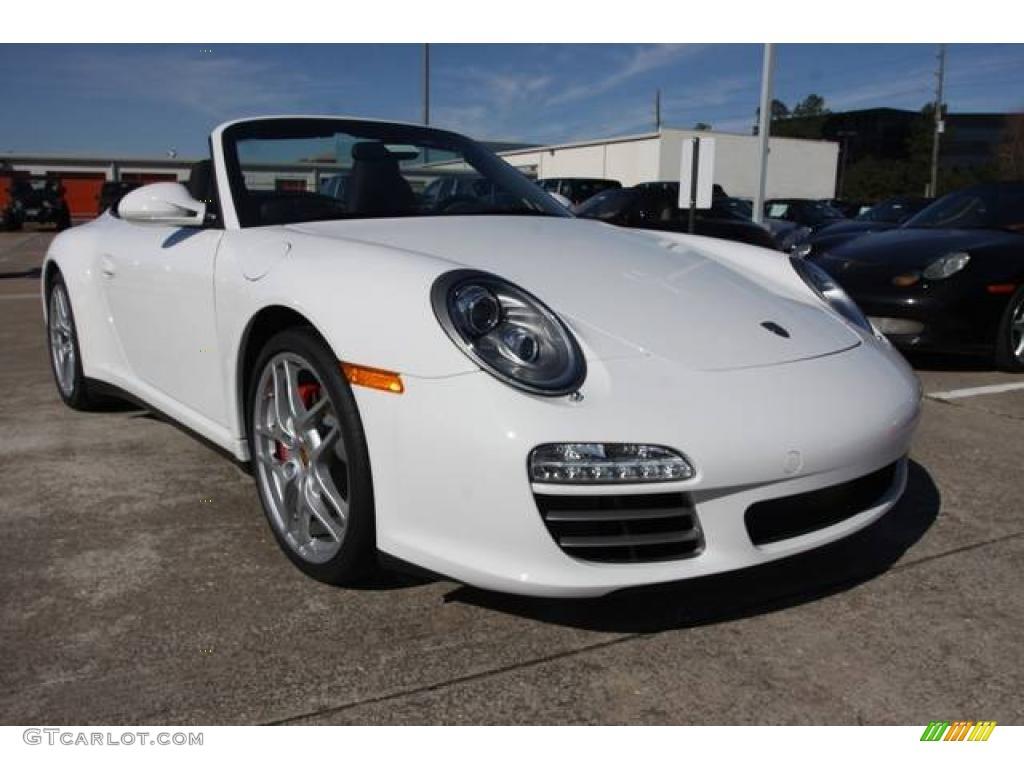 2010 carrara white porsche 911 carrera 4s cabriolet 25146128 photo 3 car. Black Bedroom Furniture Sets. Home Design Ideas