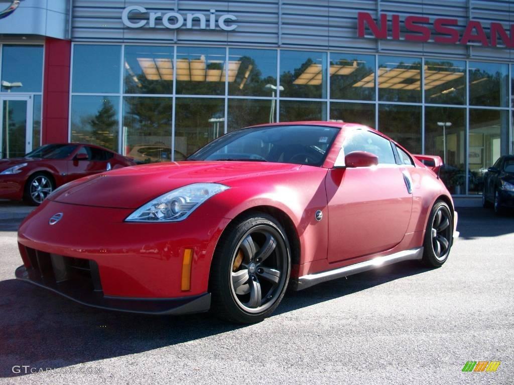 2008 nogaro red nissan 350z nismo coupe 25146145. Black Bedroom Furniture Sets. Home Design Ideas