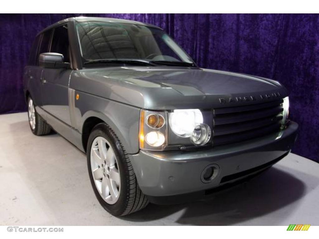 2005 Range Rover HSE - Bonatti Grey Metallic / Charcoal/Sand photo #1