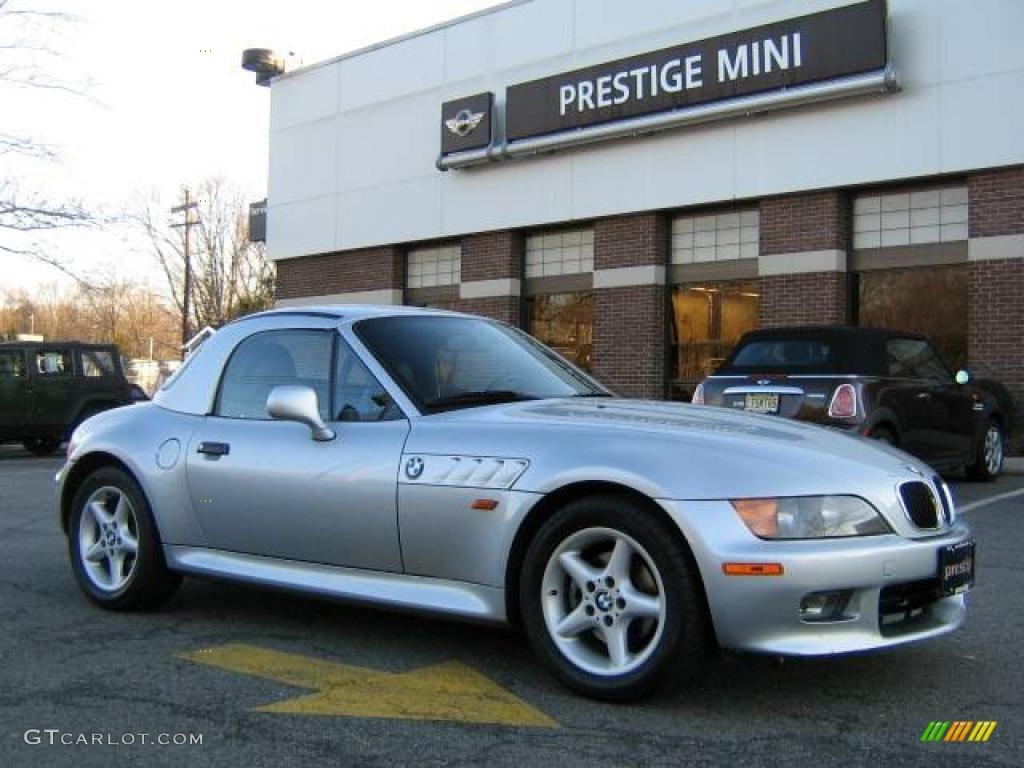 1998 Arctic Silver Metallic Bmw Z3 2 8 Roadster 25195902