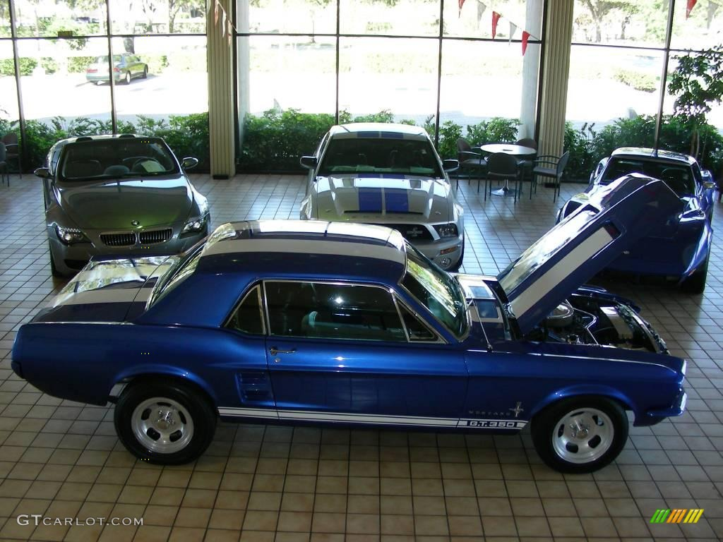 1967 blue ford mustang coupe 25196406 photo 2 gtcarlot. Black Bedroom Furniture Sets. Home Design Ideas