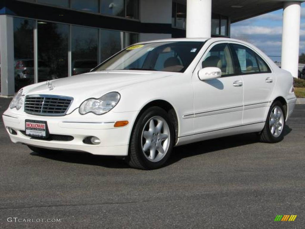 2004 alabaster white mercedes benz c 240 4matic sedan 25247680 car color galleries. Black Bedroom Furniture Sets. Home Design Ideas