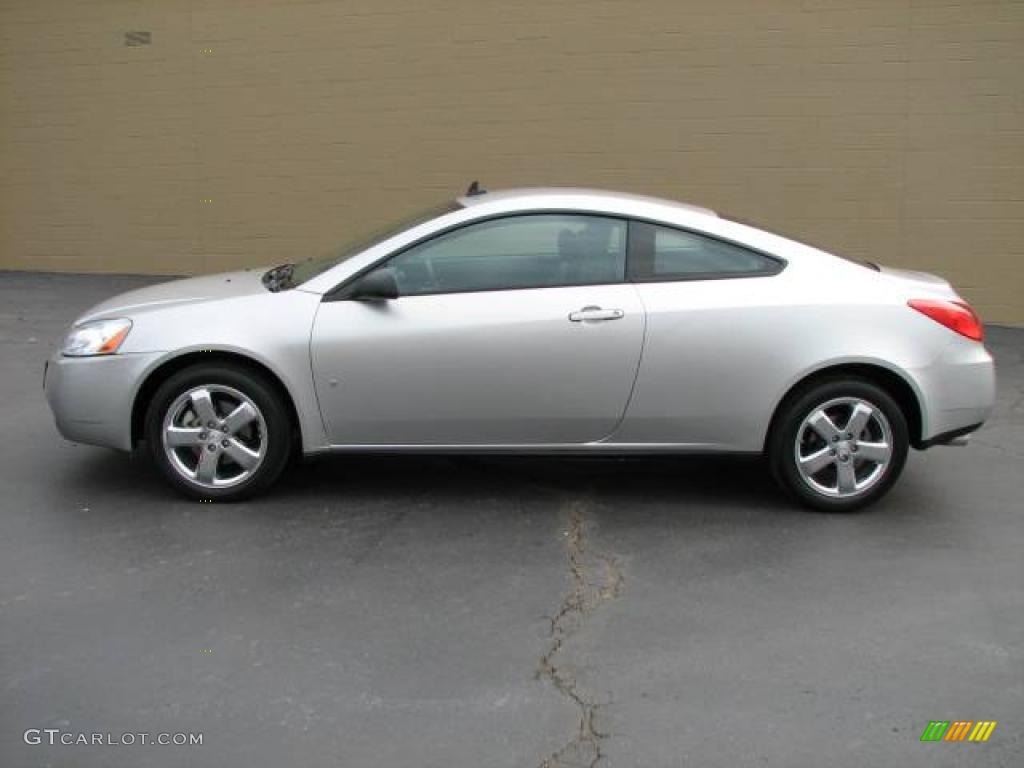 2008 Liquid Silver Metallic Pontiac G6 Gt Coupe 2516014