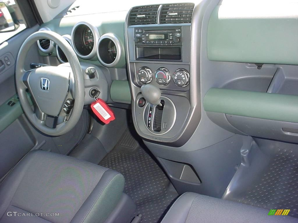 2005 galapagos green metallic honda element lx awd. Black Bedroom Furniture Sets. Home Design Ideas