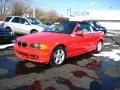 Electric Red 2002 BMW 3 Series 325i Convertible