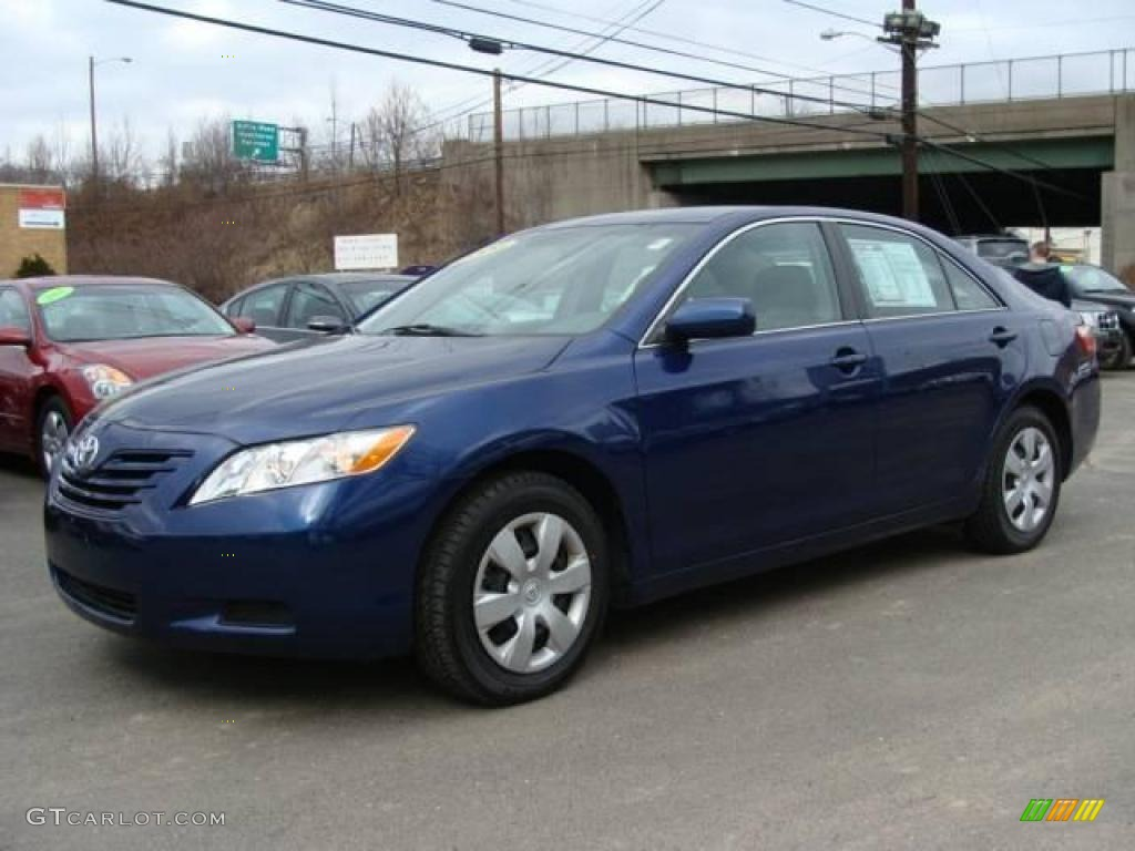 2008 blue ribbon metallic toyota camry le 25247866 photo 8 car color galleries. Black Bedroom Furniture Sets. Home Design Ideas