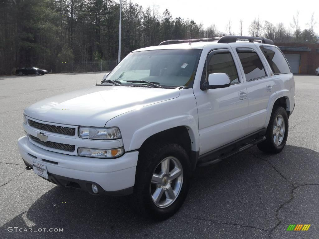 2002 Summit White Chevrolet Tahoe Z71 4x4 25247898