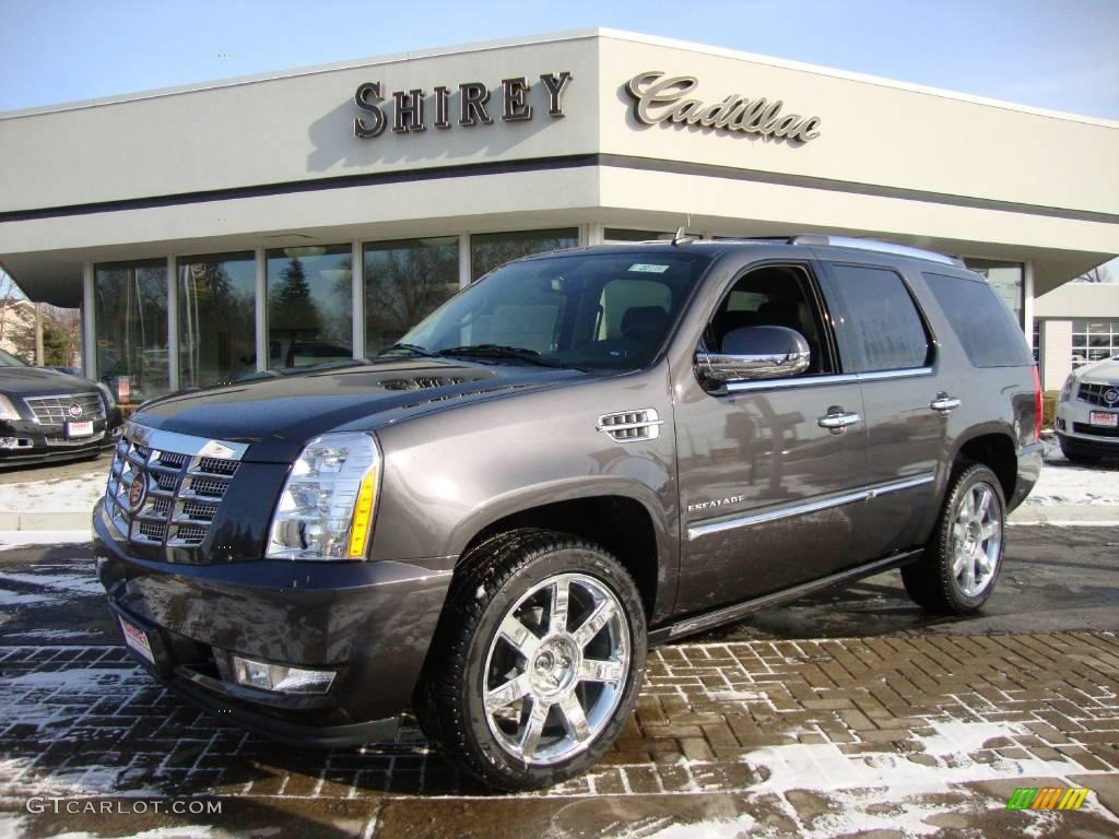 2010 escalade premium awd galaxy gray ebony photo 1