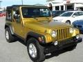 2003 Inca Gold Metallic Jeep Wrangler Rubicon 4x4  photo #1