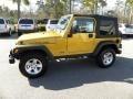 2003 Inca Gold Metallic Jeep Wrangler Rubicon 4x4  photo #2