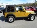 2003 Inca Gold Metallic Jeep Wrangler Rubicon 4x4  photo #9