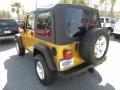 2003 Inca Gold Metallic Jeep Wrangler Rubicon 4x4  photo #13