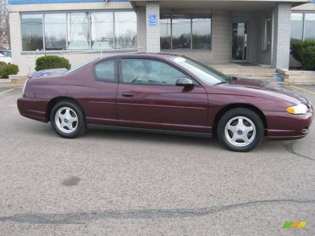 2004 berry red metallic chevrolet monte carlo ls 25300134. Black Bedroom Furniture Sets. Home Design Ideas