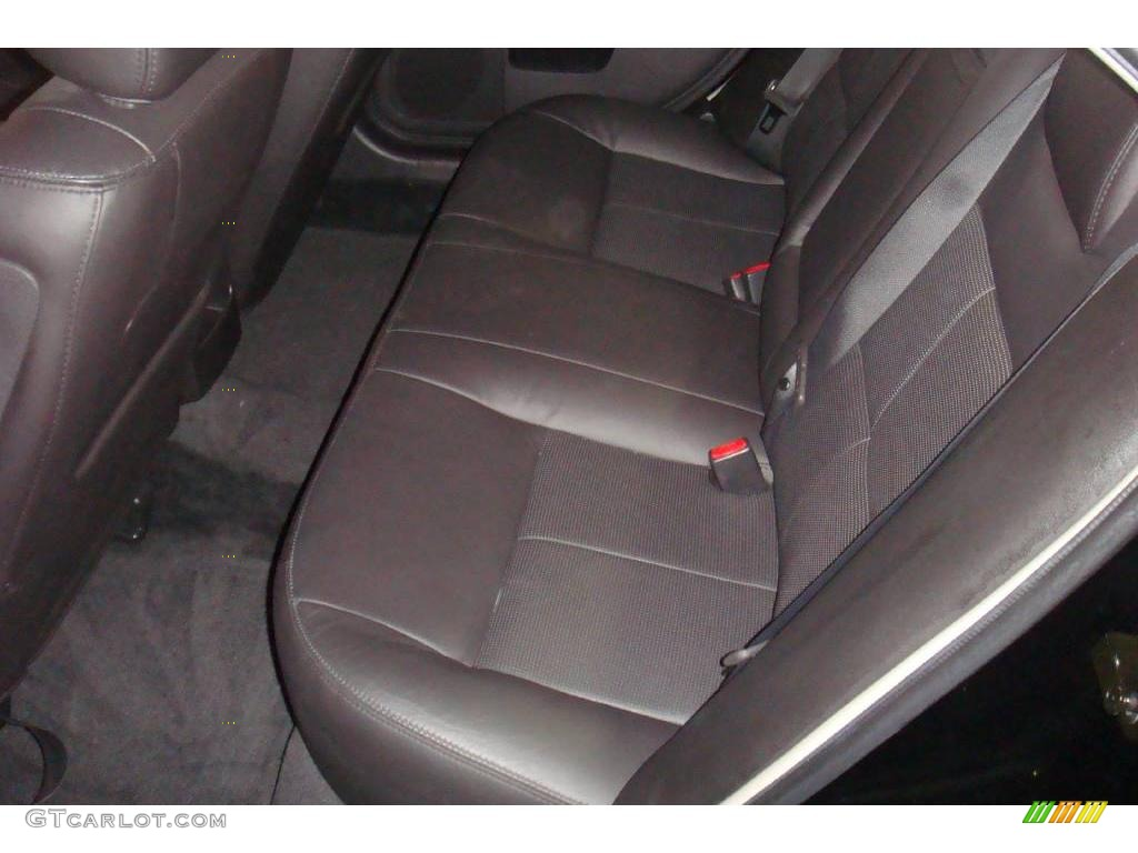 2008 MKZ Sedan - Black / Dark Charcoal photo #11