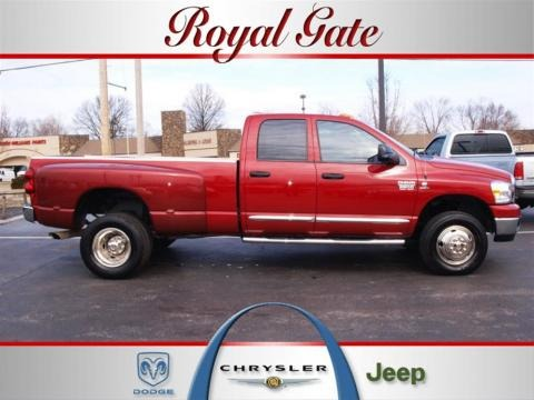 2008 Dodge Ram 3500 SLT Quad Cab 4x4 Dually Data, Info and Specs